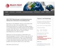 Bild MULTI-TEXT Übersetzungen & Dolmetscherservice