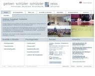 Website Garben, Schlüter, Schützler & Reiss