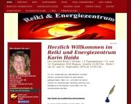 Bild Webseite Reiki und Energiezentrum Karin Haida Köln
