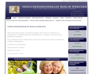 Website Versicherungsmakler Berlin München