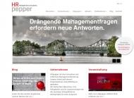 Bild Webseite HRpepper Berlin