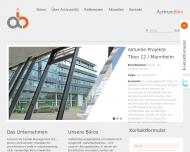 Bild Webseite ActivumBüro Berlin