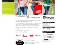 Website Röttger SCHUH & MODE