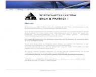Website Wirtschaftsberatung Bach & Partner
