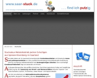 Website Jochen Schulligen Stuckateur