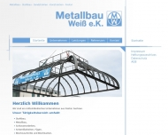 Bild Webseite Metallbau Weiß Freital