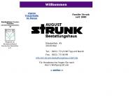 Bild Webseite August Strunk Kiel