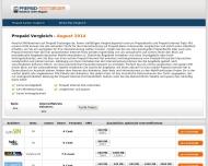 Website F2Q - Prepaid Tarife