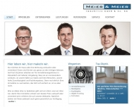 Website MEIER & MEIER Immobilien