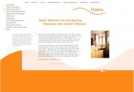 Website Seniorenwohnpark an der Lesum Hansa-Gruppe