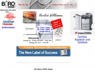 Website Büro 2000
