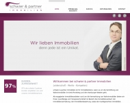 Bild Webseite schwier & partner Immobilien Wedel