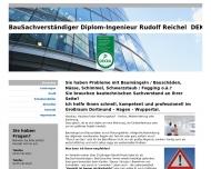 Bild BauSachverständiger DEKRA-zert. Dipl.-Ing. Rudolf Reichel
