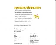 Website Heinzelmännchen Gebäudereinigung