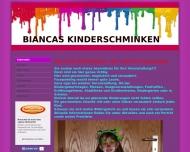 Bild Bianca Zinn Kinderschminken