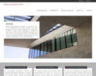 Bild Webseite REMAG Asset Management Berlin