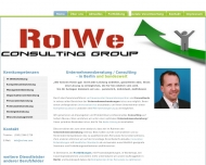 Website RolWe Consulting Group