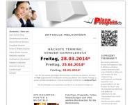 Website PizzaProspekt.de
