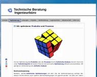 Bild Webseite Technische Unternehmensberatung, Ingenieurbüro München