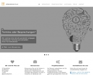 Bild Webseite BüroservicePlus Konstanz