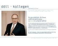 Bild Webseite Hans-Otto Döll Darmstadt