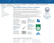 Bild Webseite Walter Schmidt Göttingen