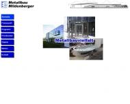 Metallbau Mildenberger - Metallbauvielfalt