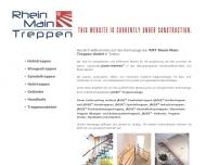 Bild Webseite RMT Rhein-Main-Treppen Trebur