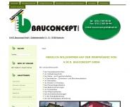 Bild Webseite H.M.D. - Bauconcept Karlsruhe