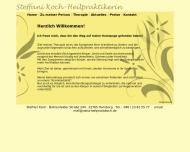 Bild Webseite Heilpraktikerin Steffani Koch Hamburg