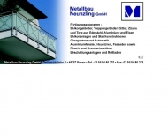 Website Metallbau Neunzling