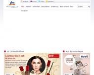 Bild Webseite dm-drogerie markt Nürnberg