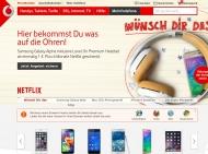 Website Vodafone - Shop Magdeburg