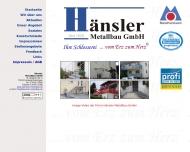 H?nsler Metallbau GmbH in Freiburg +++ Ihre Schlosserei +++ ... vom Erz zum Herz +++