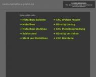 Bild Webseite NEDO Metallbau Bergkirchen