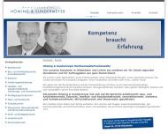Website Anwaltskanzlei Höwing und Sundermeyer