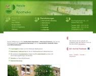 Bild Webseite Heide Markt Apotheke München