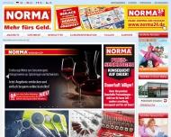 Bild Webseite Norma Oberhausen