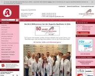 Bild Webseite Augusta-Apotheke Köln