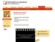 Bild Webseite SPfL Spektrum Praxis für Lehre und Forschung Berlin