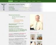 Bild Webseite Naturheilpraxis Theunert Nürnberg
