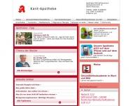 Bild Webseite Kant-Apotheke München