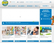 Bild Webseite TEDi -  Magdeburg
