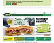 Bild Webseite Subway Magdeburg