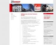 Bild Webseite Faensen Aachen