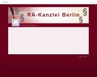 Bild Webseite Rechtsanwalt Asim Güllüoglu Berlin