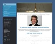 Bild Webseite R E S Rechtsanwaltskanzlei Eva Sondermann Berlin