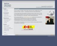 Bild Webseite Rechtsanwältin Bettina Herrmann Berlin