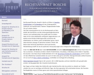 Bild Webseite Robert Julius Bosche Berlin