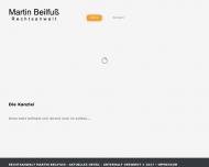 Bild Webseite Rechtsanwalt Martin Beilfuß Berlin